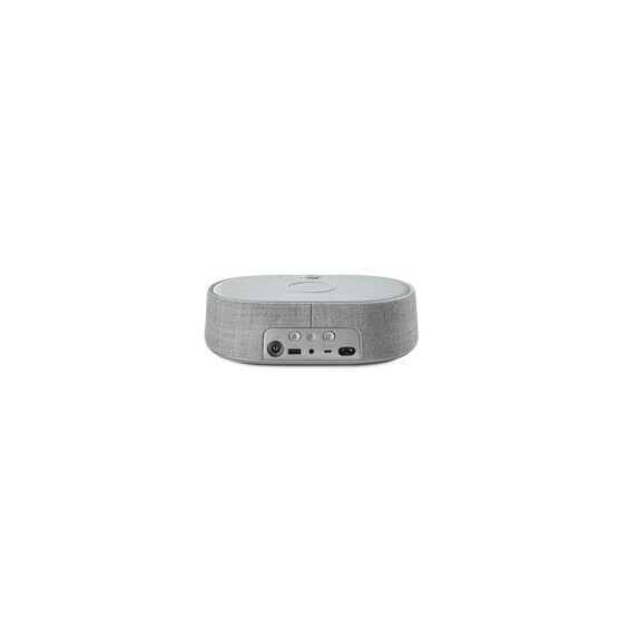 Harman Kardon Citation Oasis - Grey - Voice-controlled speaker with DAB/DAB+ radio and wireless phone charging - Back