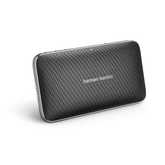 Harman Kardon Esquire Mini 2 - Black - Ultra-slim and portable premium Bluetooth Speaker - Hero