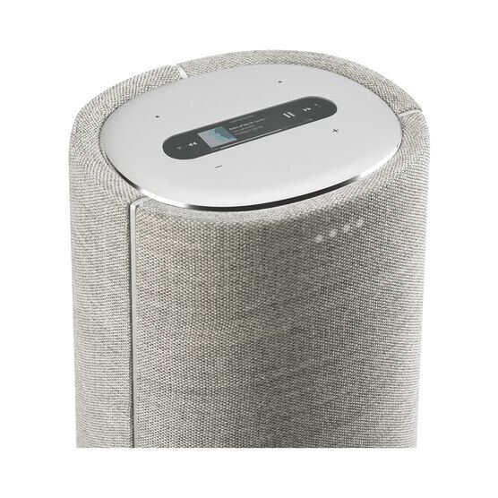 Harman Kardon Citation Tower - Grey - Smart Premium Floorstanding Speaker that delivers an impactful performance - Detailshot 1