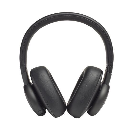 Harman Kardon FLY ANC - Black - Wireless Over-Ear NC Headphones - Front