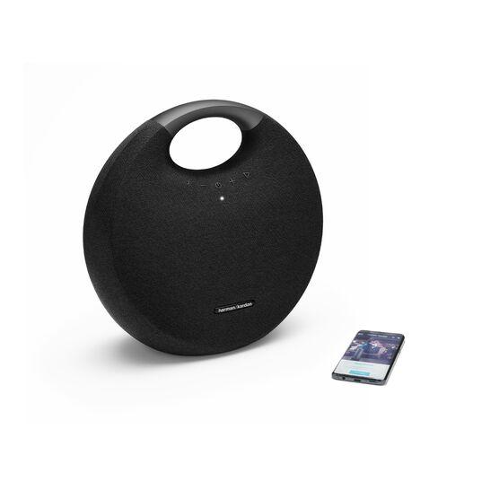Onyx Studio 6 - Black - Portable Bluetooth speaker - Detailshot 1