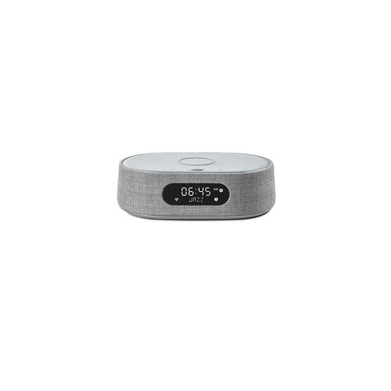 Harman Kardon Citation Oasis - Grey - Voice-controlled speaker with DAB/DAB+ radio and wireless phone charging - Front