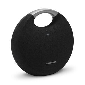 Onyx Studio 5 - Black - Portable Bluetooth Speaker - Hero