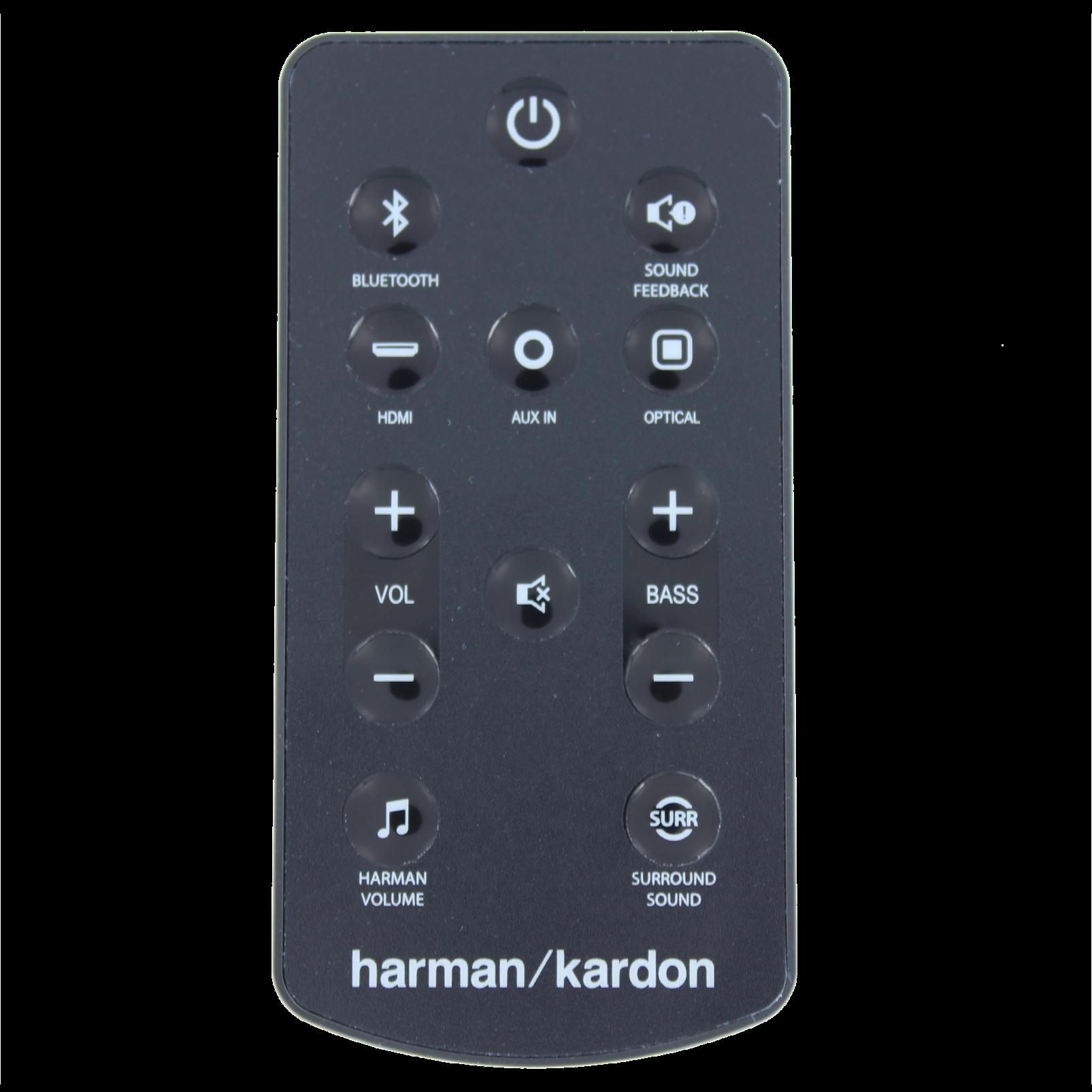Harman Kardon Remote control for SB20 - Black - Remote control - Hero